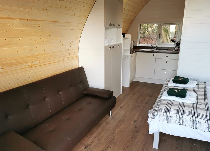 Pod Living Area